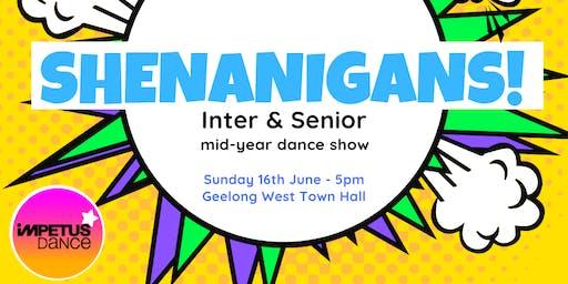 Shenanigans!   Inters & Seniors Cabaret