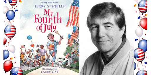 "Author Jerry Spinelli Book Signing for His New Children's Book ""My Fourth of July"""