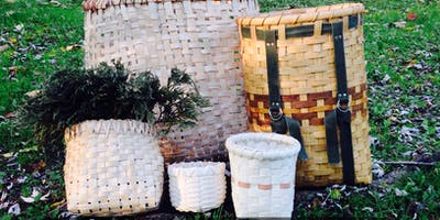 Primitive Skills: Intro to Basketry-basic splintwork