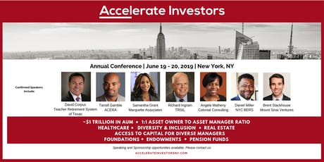 2019 Accelerate Investors Annual Conference tickets