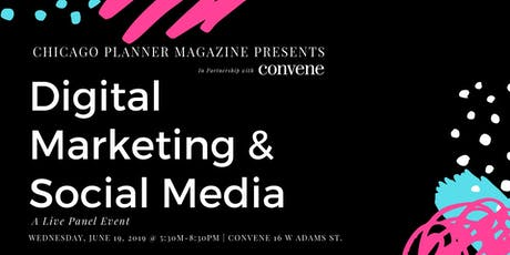Digital Marketing & Social Media Panel Event (Events & Hospitality) tickets