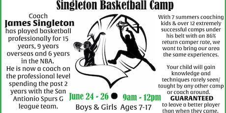 Singleton Basketball Camp tickets