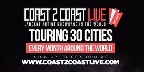Coast 2 Coast LIVE Artist Showcase Philadelphia, PA - $50K Grand Prize tickets