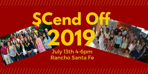 SCend Off 2019: Sending the Class of 2023 Off to USC