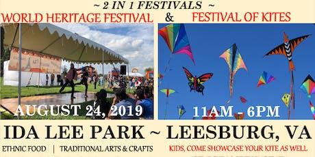 World Heritage Festival / Festival of Kites ~ Leesburg, VA tickets