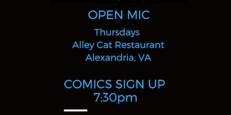 Open Mic Thursdays at Alley Cat tickets