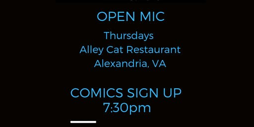 Open Mic Thursdays at Alley Cat