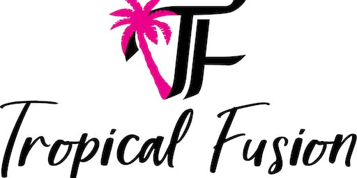 Tropical Fusion tasting event
