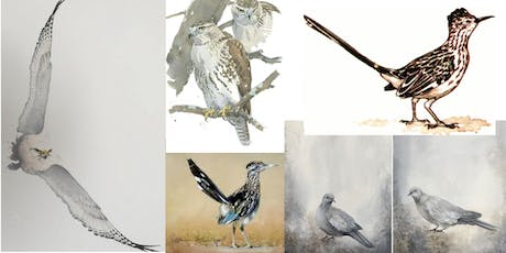 Hawks, Falcons, Doves and Roadrunners Painting Class tickets