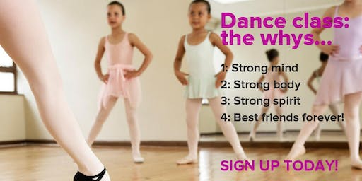 FREE DANCE RECITAL COSTUME PACKAGE at Cynthia's Dance Center