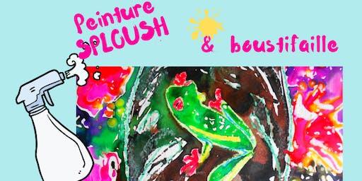Peinture Sploush et boustifaille