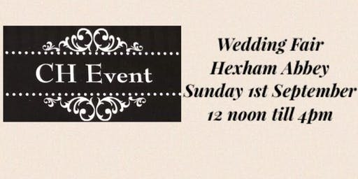 Wedding Fair Hexham Abbey