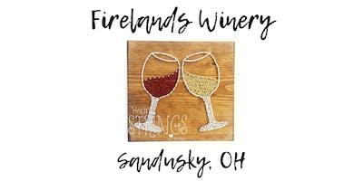 Wine Glass String Art Workshop