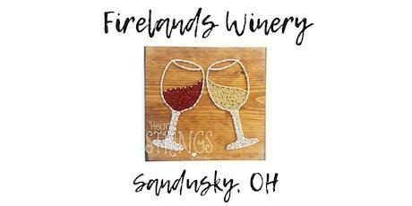 Wine Glass String Art Workshop tickets