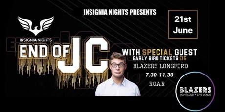 Blazers end of jc with special guest  tickets