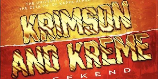 KRIMSON & KREME WEEKEND