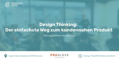 Design Thinking Workshop by Manage&More