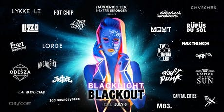 Blacklight Blackout: Indie & Electronic Blacklight Party tickets