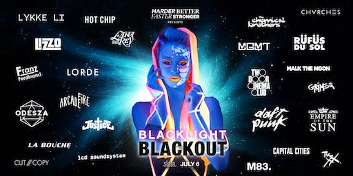 Blacklight Blackout: Indie & Electronic Blacklight Party
