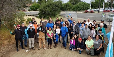 Guadalupe Creek Monthly Cleanup