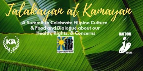 Talakayan at Kamayan:Filipino Culture,Food & Dialogue about Health & Rights tickets
