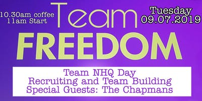 Team NHQ Day with The Chapmans