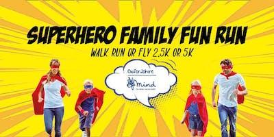 Superhero Family Fun Run #OxMind #SuperheroFamilyFunRun #MentalHealthAwareness