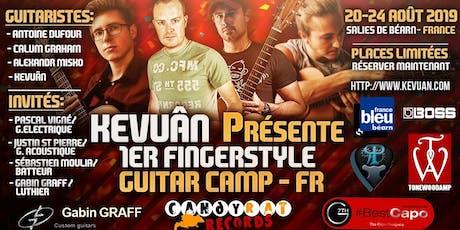 Kevuan Fingerstyle Guitar Camp billets