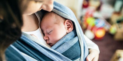 Babywearing for Expecting & Newborn Caregivers