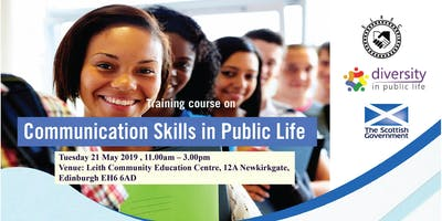 Training course on Communication Skills in Public life
