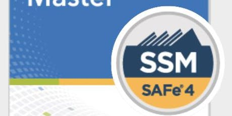 SAFe Scrum Master - V4.6 Certification (SSM) - Get Trained by the UK No 1 on Dates: 20th and 21th July 2019 tickets