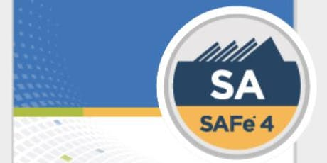 Scaled Agile Framework: Leading SAFe - V4.6 Certification (SA) - Get Trained by the UK No 1 - Dates:3rd and 4th August 2019 tickets