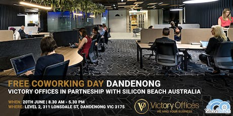 Victory Offices | Free Co-working Day & Free One Month Offer | Dandenong tickets