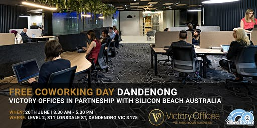 Victory Offices | Free Co-working Day & Free One Month Offer | Dandenong