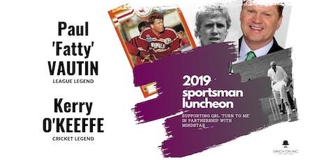 2019 Sportsman Luncheon tickets