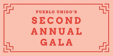 Pueblo Unido's 2nd Annual Gala tickets