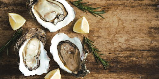 Fresh Oysters, Sushi & Sparkling Wine Flights