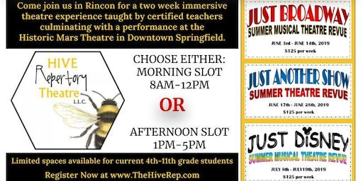 2019 Summer Theatre Experience - Just Disney - Summer Camp