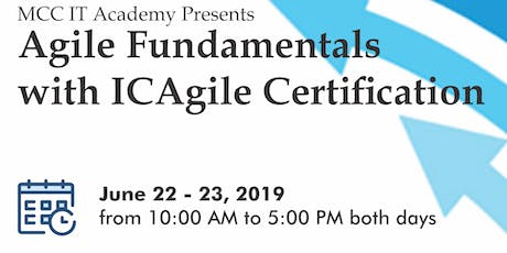 Agile Fundamentals with ICAgile Certification tickets