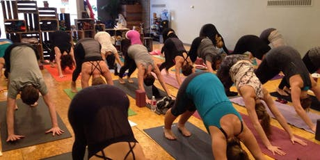 Pay What You Can Yoga tickets