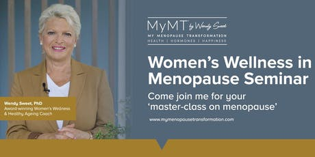 Your Masterclass in Menopause - EDINBURGH - July 9th  tickets