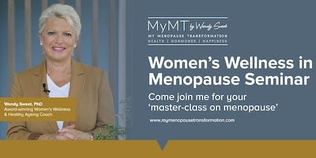Your Masterclass in Menopause - EDINBURGH - July 9th  tickets