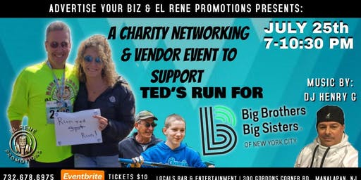 Charity Networking & Vendor  Event To Support Ted's Run