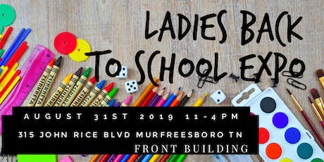 Ladies Back To School Shopping Event tickets
