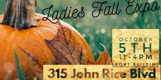 Ladies Fall Shopping Event