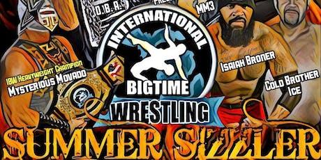 International Bigtime Wrestling – Summer Sizzler tickets
