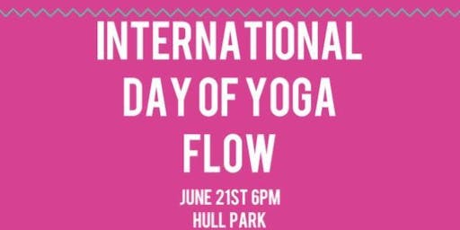 International Yoga Day Flow!