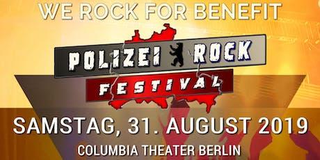Polizei Rockfestival 2019 Tickets