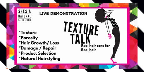 Texture Talk tickets