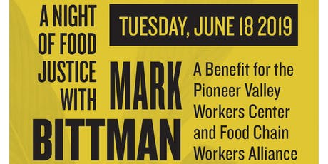 A Night of Food Justice with Mark Bittman: A Benefit for PVWC tickets